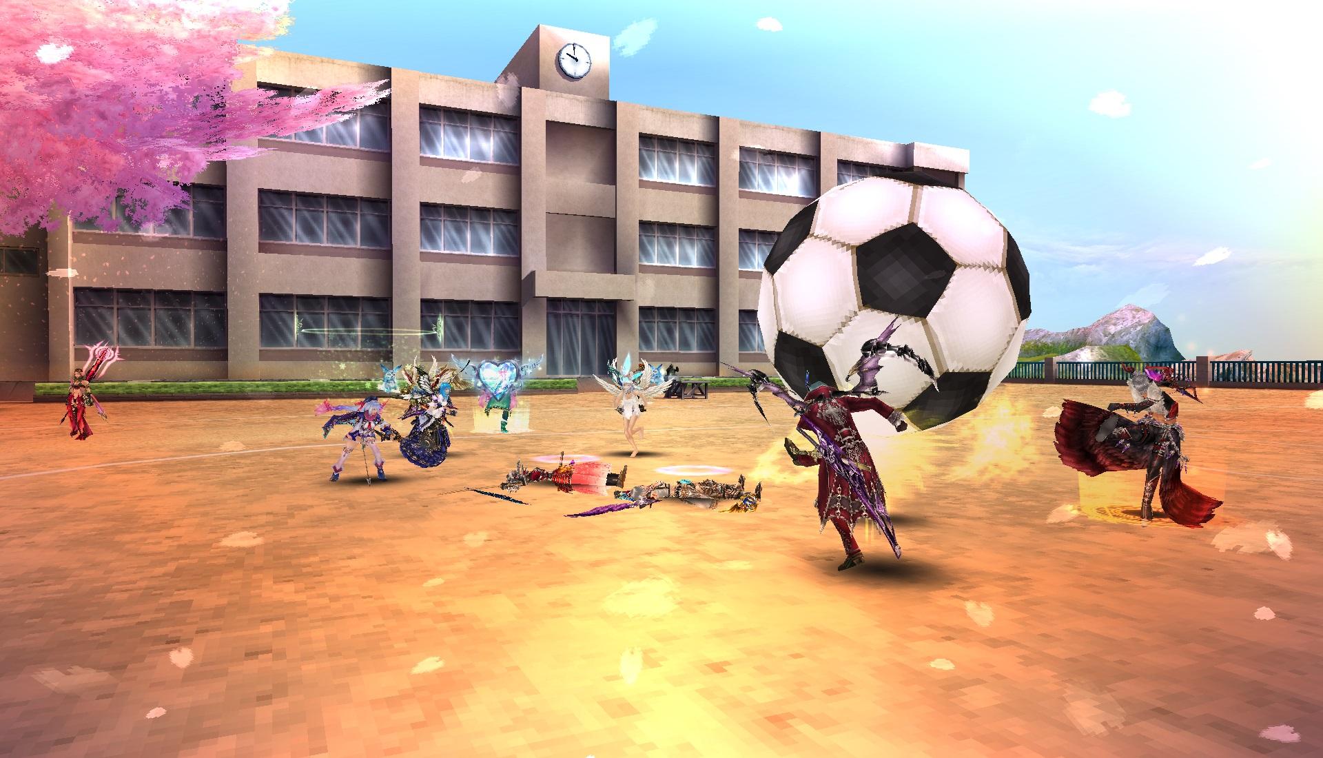 サッカー風景1